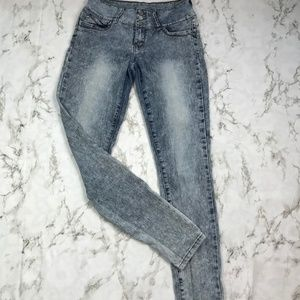 YMI  Acid Wash High Waisted Skinny Jeans